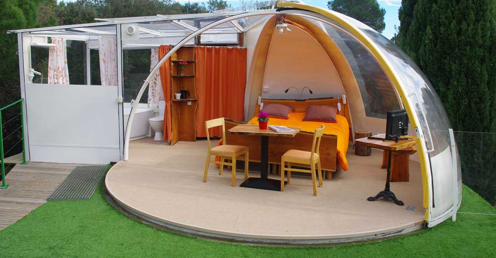 g te bulle vente h bergement insolite pour g tes campings. Black Bedroom Furniture Sets. Home Design Ideas